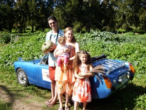 The Gettles of Baker Creek Heirloom Seed Visit Squash and Awe farm