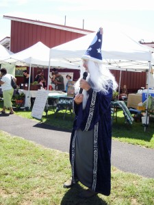 Paul reappeared as a wizard