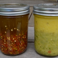 Spoonable Heirloom Chili Pepper Oil