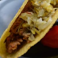The Lima Bean Squash Taco with Homemade Kraut